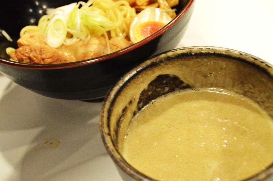 味付け玉子 つけ麺