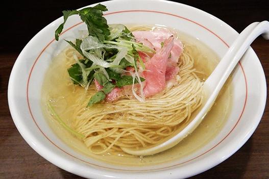 ブリ白湯ラーメンスープ