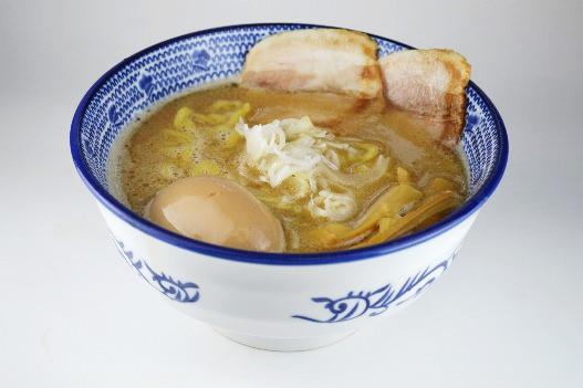 ザラザラ鶏白湯
