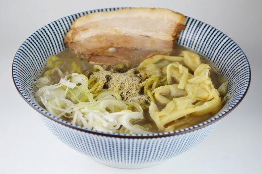 超濃厚煮干しスープ