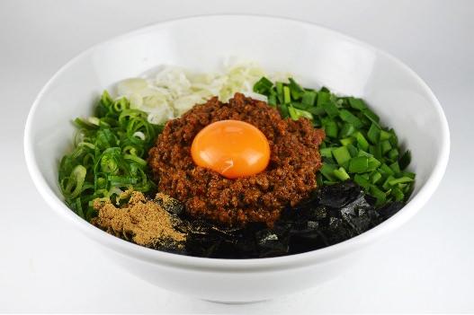 台湾まぜそば(冷凍ひき肉ラー油)